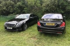 Mercedes V55 and V66 at Hay Festival