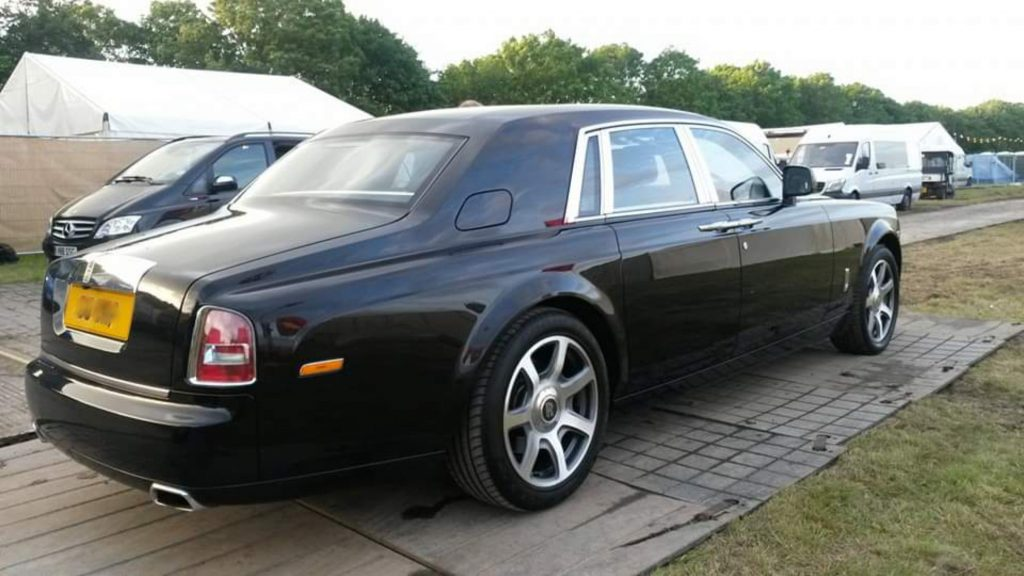 Sterling Service Rolls Royce Back Stage at Love Supreme 2016